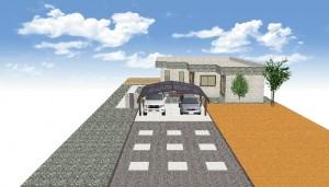 パース駐車場